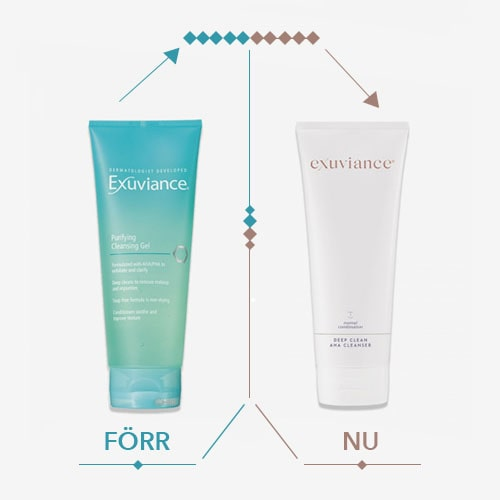 exuviance cleansing gel