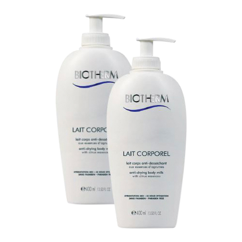 Biotherm Lait Corporel Body Milk 2 Pack 800 ml