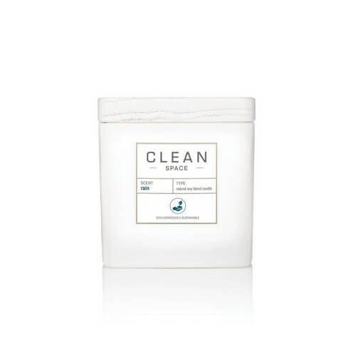 Clean Space Rain Scented Candle 227 ml