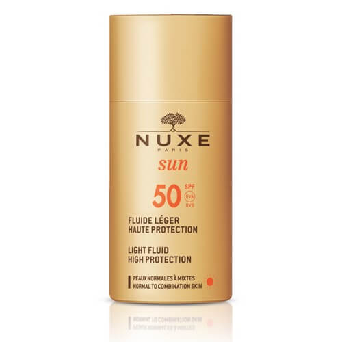Nuxe Sun Fluid High Protection Spf50 50 ml