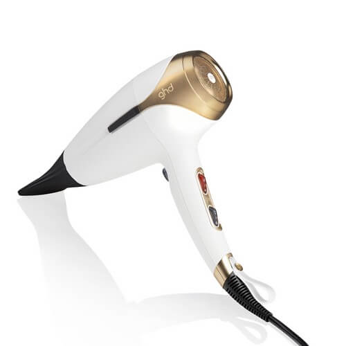 Ghd Helios White And Satin Gold Limited Edition Hair Dryer