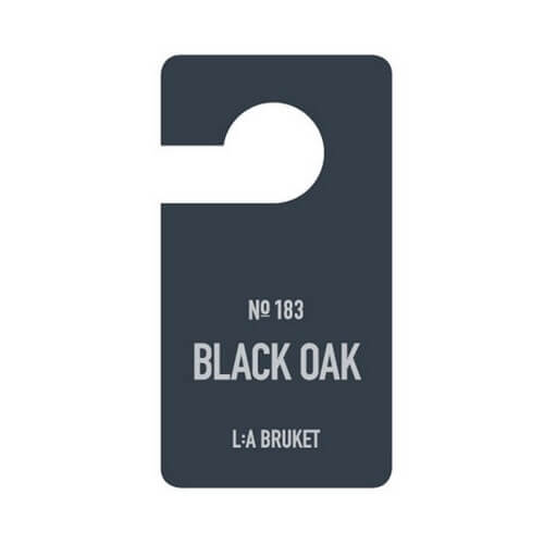 La Bruket 183 Fragrance Tag Black Oak