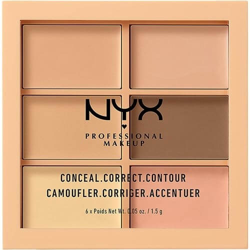 NYX Professional Makeup 3c Palette Light 3CP01