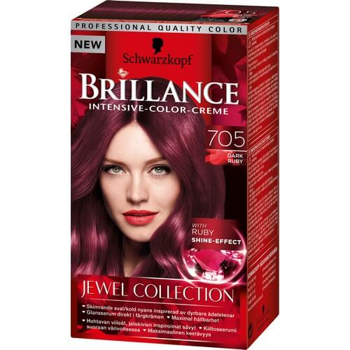 Schwarzkopf Brillance 705 Dark Ruby