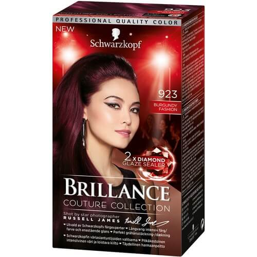 Schwarzkopf Brillance 923 Burgundy Fashion