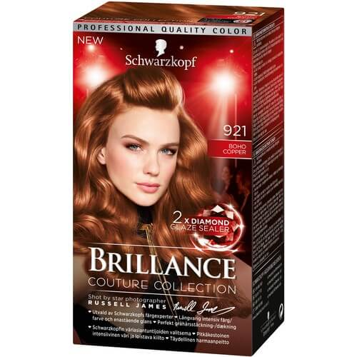 Schwarzkopf Brillance 921 Boho Copper