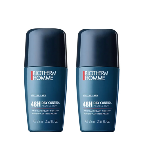 Biotherm Homme 48h Day Control Deo Roll On 2x75 ml