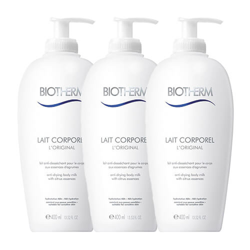 Biotherm Lait Corporel Body Milk 3 Pack 1200 ml