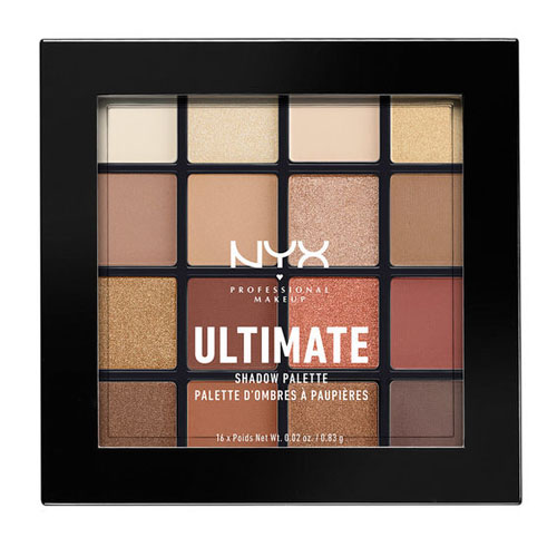 NYX Professional Makeup Ultimate Shadow Palette USP03 Warm Neutrals