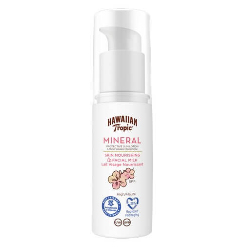 Hawaiian Tropic Mineral Sun Milk Face Spf30 50 ml