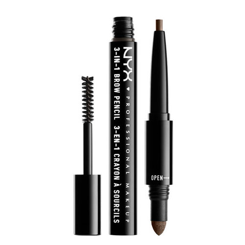 NYX Professional Makeup 3 in 1 Brow 31B08 Ash Brwn