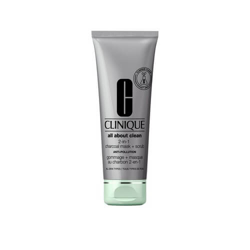 Clinique All About Clean Charcoal Mask Scrub Anti Polluti 100 ml
