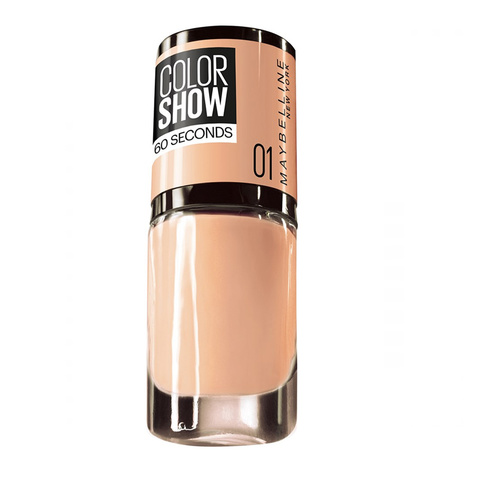 Maybelline Color Show Nail polish 7 ml 1 Go Bare