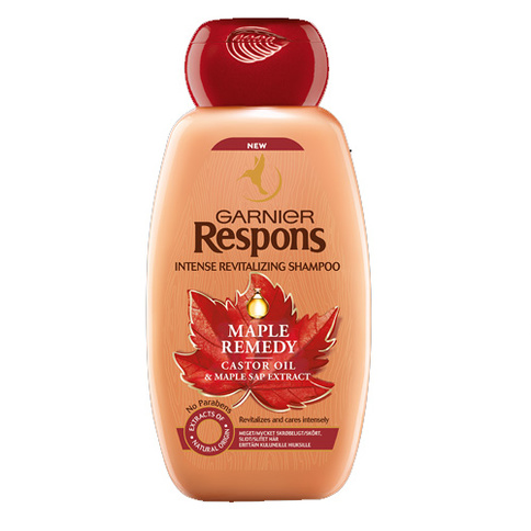 Garnier Respons Maple Remedy Shampoo
