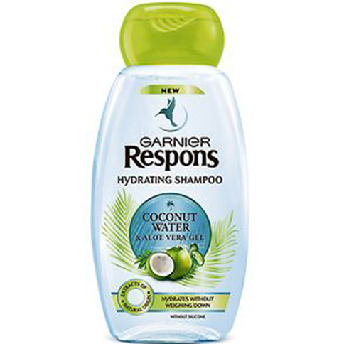 Garnier Respons Coconut Water Shampoo 300 ml