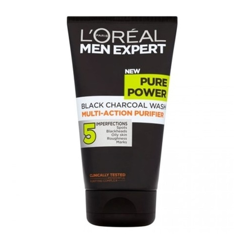L'Oreal Men Expert Pure Power Daily Charcoal Wash 150 ml