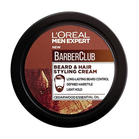 L'Oreal Men Expert Barber Club Beard And Hair Styling Cream 75 ml