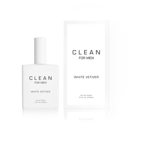 Clean for Men White Vetiver EdT 100 ml