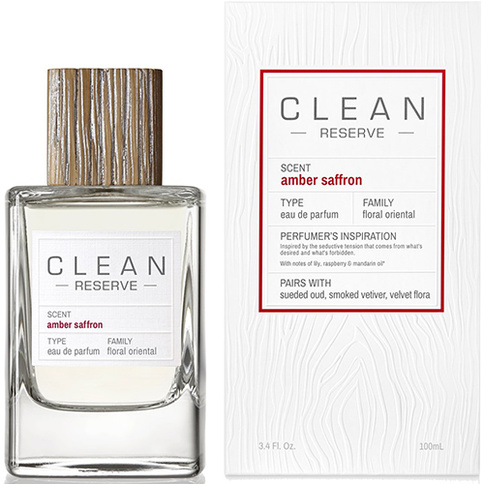 Clean Reserve Amber Saffron EdP 100 ml