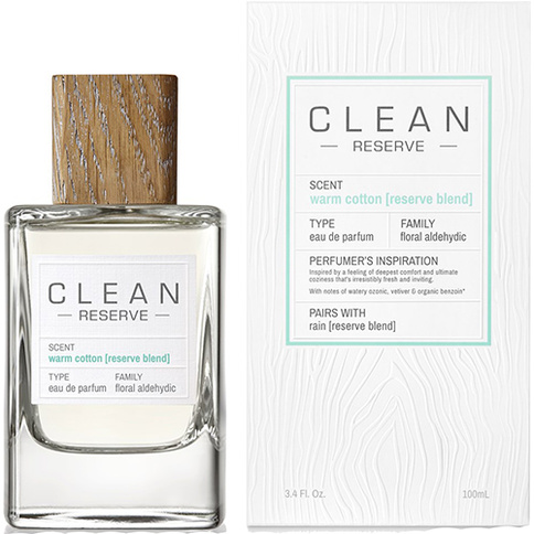 Clean Reserve Warm Cotton Reserve Blend EdP 100 ml