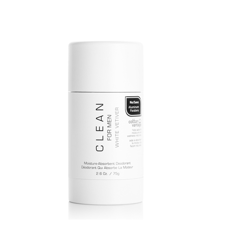 Clean for Men White Vetiver Deodorant Stick 75g