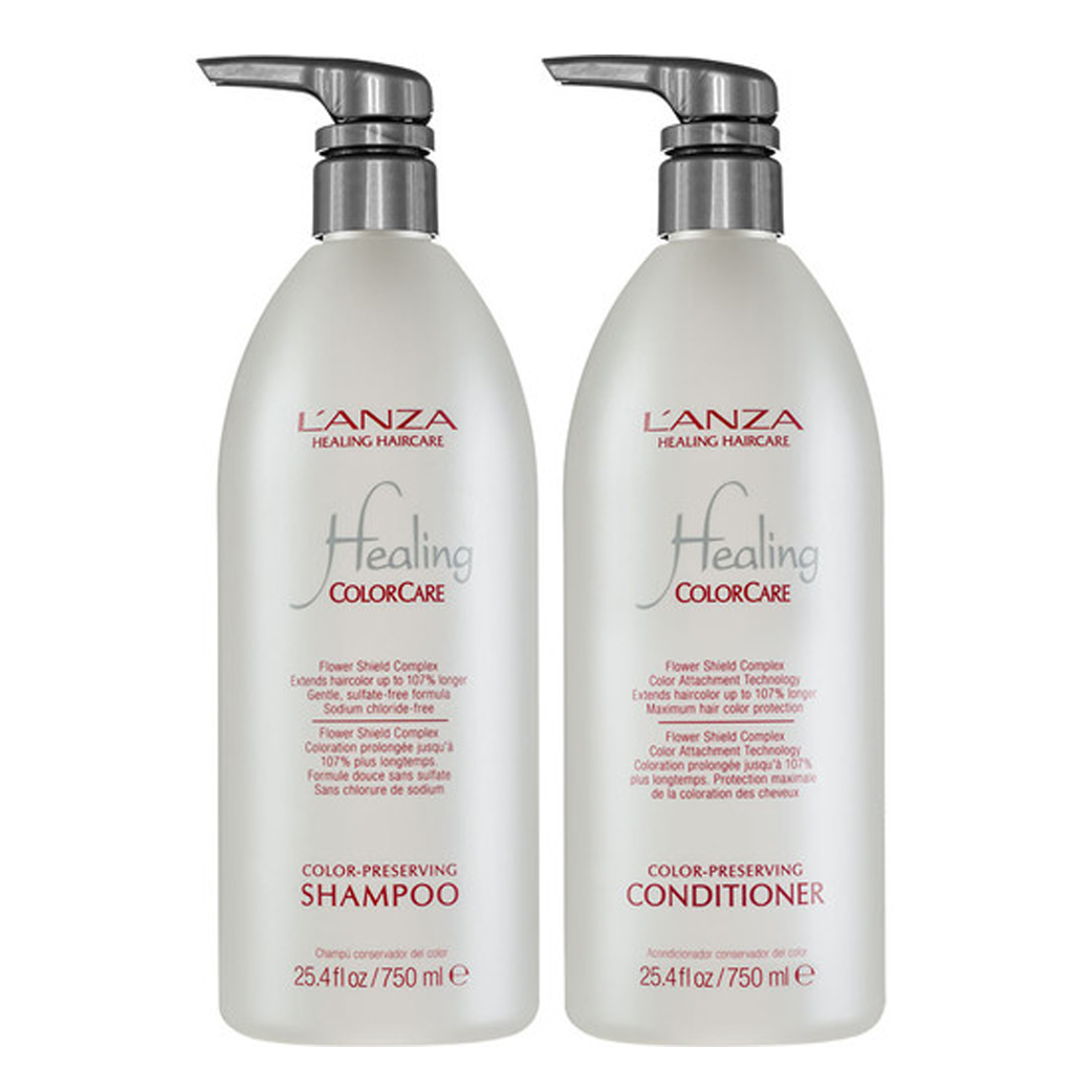 Lanza Healing ColorCare Color-Preserving Duo 750 ml