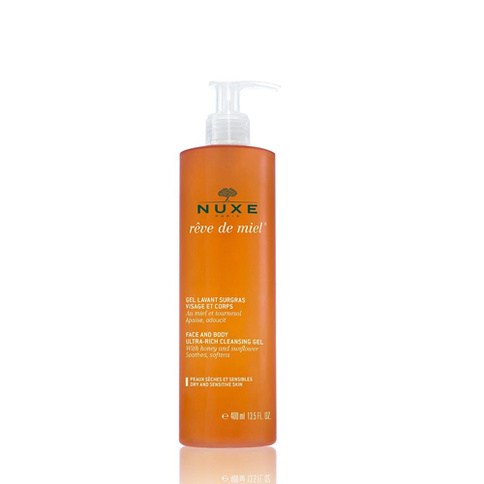 Nuxe Rdm Face and Body Ultra-Rich Cleansing Gel 400 ml