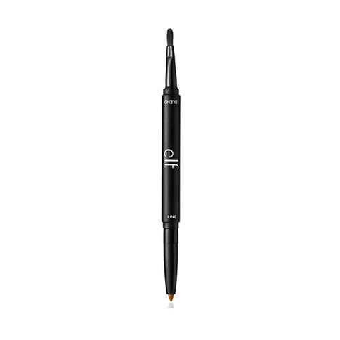 ELF Lip Liner & Blending Brush 0.25g Dark Brown