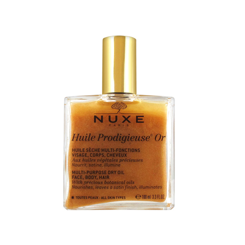 Nuxe Huile Prodigieuse Multi-Purpose Dry Oil Golden Shimmer 100 ml