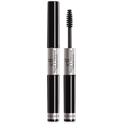 ELF Regular & Waterproof Mascara Duo Black