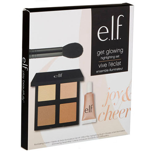 ELF Joy & Cheer Get Glowing Highlighting Giftset