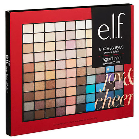 ELF Joy & Cheer Endless Eyes 100 Color Palette Giftset