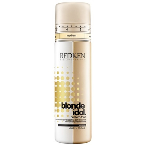 Redken Blonde Idol Custom-Tone Conditioner Gold 196 ml