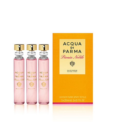 Acqua Di Parma Peonia Nobile Purse Spray Refill 3X20Ml