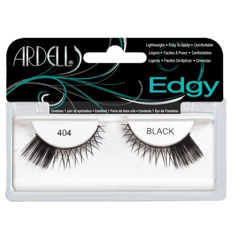 Ardell Accent Lashes Edgy Frans 404 Black