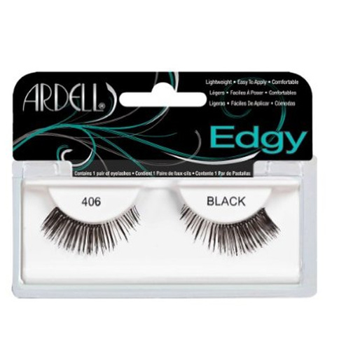Ardell Accent Lashes Edgy Frans 406 Black