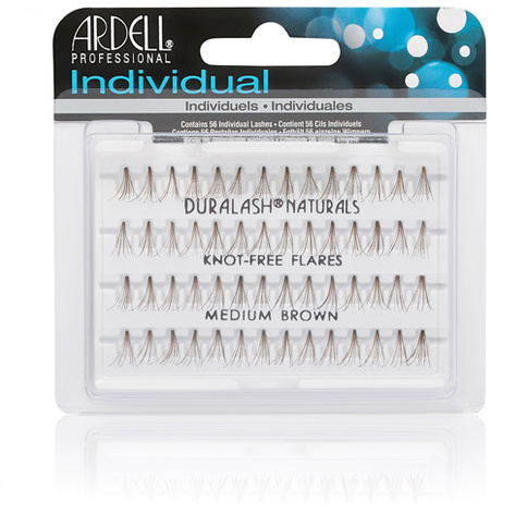 Ardell Indviduals Duralash Naturals Knot-free Flares Medium Brown