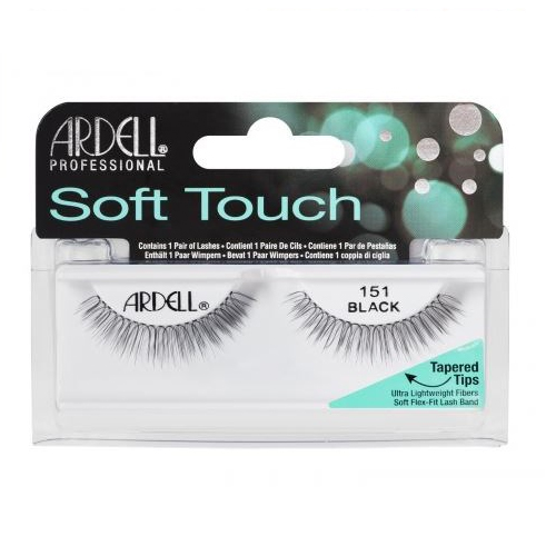 Ardell Fashion Lashes Soft Touch Lash Frans 151 Black
