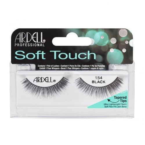 Ardell Fashion Lashes Soft Touch Lash Frans 154 Black