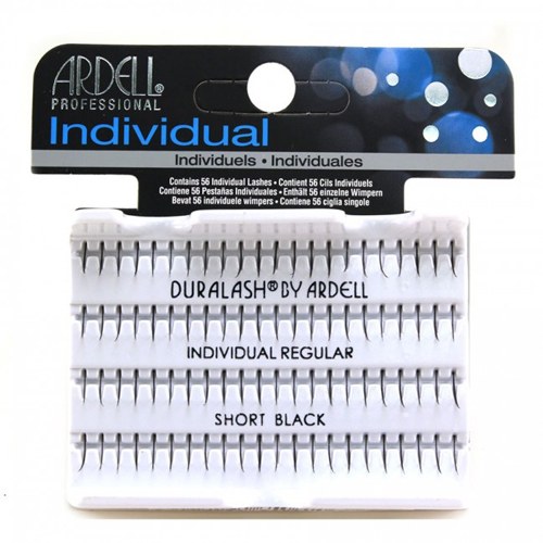 Ardell Singles Duralash Regular Individuals Short Black