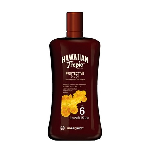 Hawaiian Tropic Protective Dry Oil SPF 6 200 ml