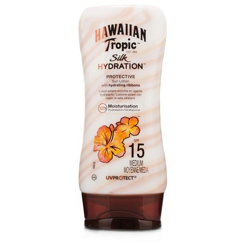 Hawaiian Tropic Silk H Protective Sun Lotion SPF 15 180 ml