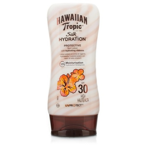 Hawaiian Tropic Silk H Protective Sun Lotion SPF 30 180 ml