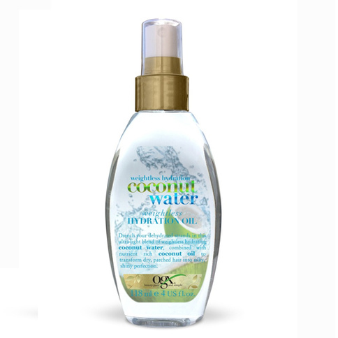 Ogx Coconut Water Hydration Oil 118 ml