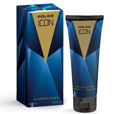 Police Icon Man Body Shampoo 400 ml