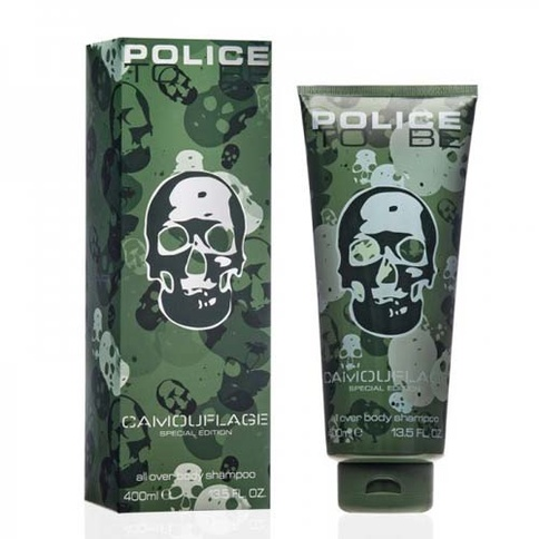Police Camouflage All Over Body Shampoo 400 ml