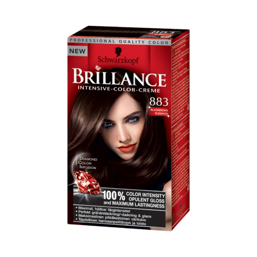 Schwarzkopf Brillance 883 Blackbrown Elegance