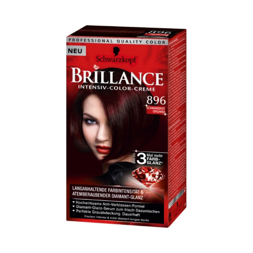 Schwarzkopf Brillance 896 Black Red