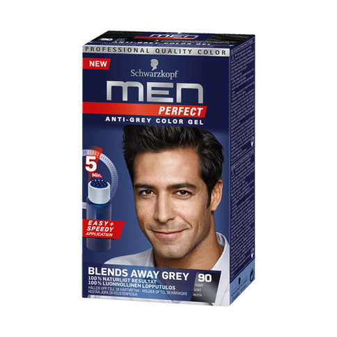 Schwarzkopf Men Perfect Anti-Grey Color Gel 80 ml