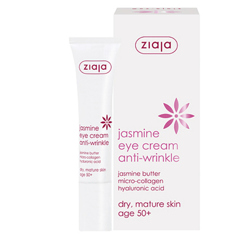 Ziaja Jasmine Eye Cream anti-wrinkle 50+ 15 ml